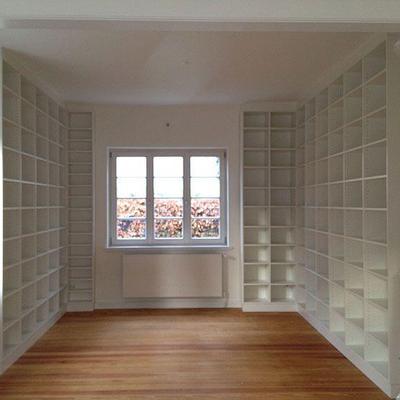Bibliothek Raumhoch in Köln Hamburg Möbelbau nach Maß