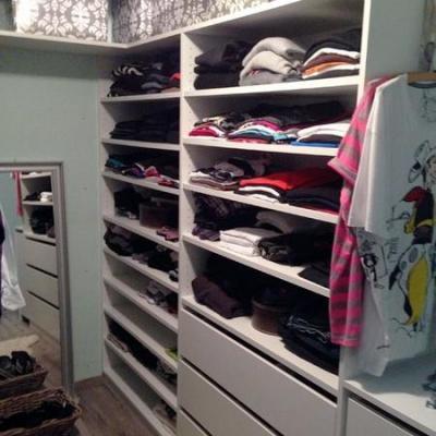 Begehbarer Kleiderschrank Lackiert in Weiss Köln-LeverkusenMöbelbau nach Maß